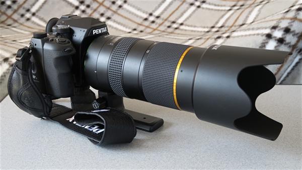 K-1 + D FA★70-200mm