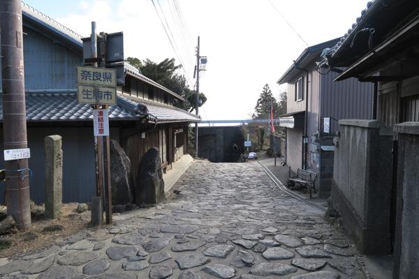 県境(大阪府側から)