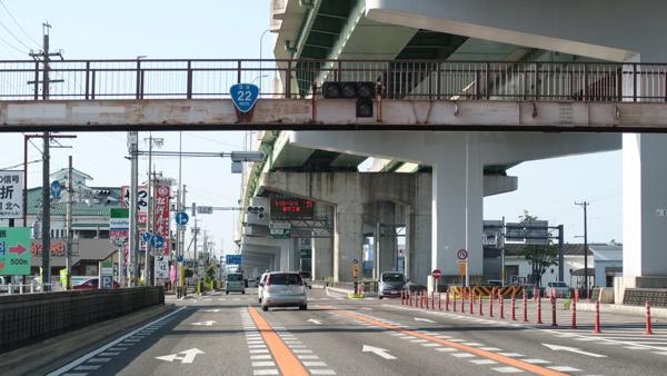 名古屋高速と併走