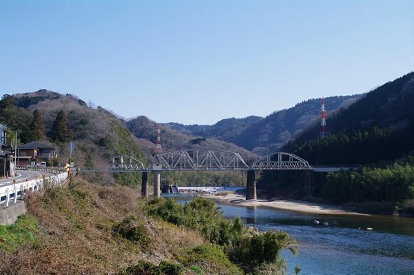 木津川と関西本線