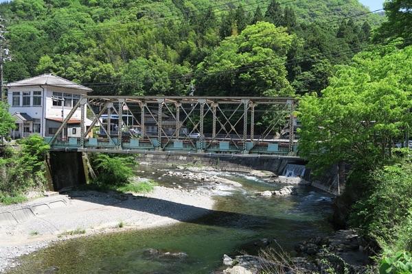 434号線旧道の橋