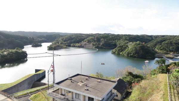 西京ダム湖
