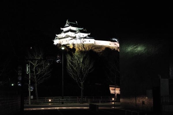 夜の和歌山城